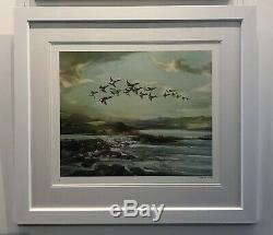 Flying High Gee Vaucher Nature Painting Print Banksy Pejac #/200 POW