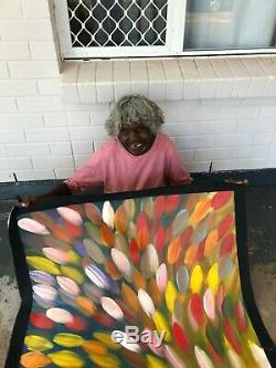 GLORIA PETYARRE, Highly Collectable Aboriginal Art