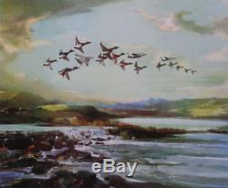 Gee Vaucher Flying High L. E. OF 200 Signed Final POW release Banksy