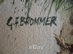 Gerald Brommer, Listed Calif California High Country Stream Nws Impressionist Wc