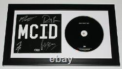 HIGHLY SUSPECT SIGNED FRAMED'MCID' CD COVER BOOKLET withCOA MY CREW IS DOPE X4