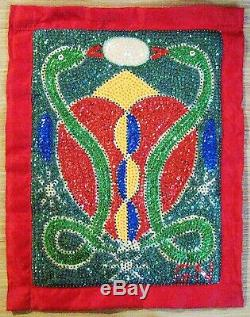 Haitian Erzulie Damballa Voodoo Or Vodou Flag 21 High By Gus Nol