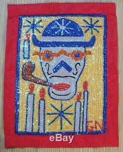 Haitian Papa Ghede Voodoo Or Vodou Flag 21 High By Gus Nol