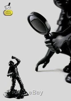 Hebru Brantley 2017 OG Black Fry Sculpture 1/25 High Impact Resin Silent Stage