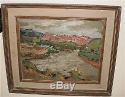 High Country New Mexico Landscape-Oil Painting1962-Armando Sozio