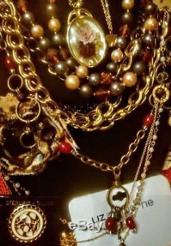 High End Signed Vintage Jewelry Lot 85+ Monet Trifari LC Napier Estee More No5