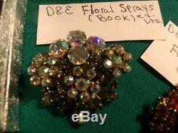 High End Vintage Rhinestone(80)+Juliana 6Books! Selro Rare Signed BIB Neck-LOOK