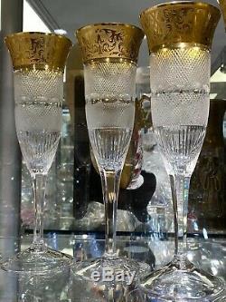 High Quality Signed Moser Splendid Champagne Flute