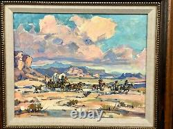 Highly Collectible Original Oil Painting by The Well-Known Artist Marjorie Reed