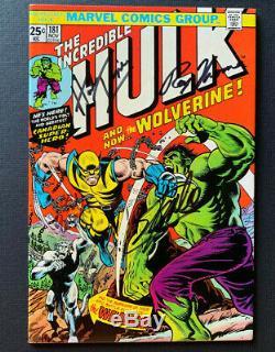 INCREDIBLE HULK #181 1st full app. Of Wolverine Signed x 4 High Grade