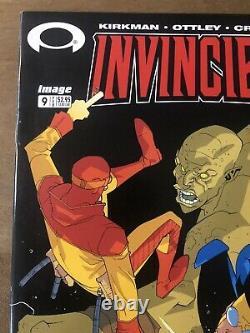 Invincible 9 2003 1st Print Kirkman NM High Grade Amazon SIGNED Monster Girl