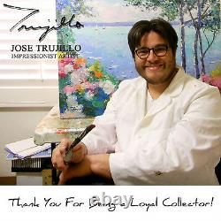 JOSE TRUJILLO Expressionism LANDSCAPE Tonalism SKY COA Highly Collected Artist