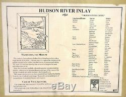 Jeff Nelson Hudson River Wood Inlay HIGH COUNTRY HOME 28 x 34 picture