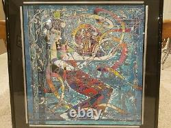 Ji Cheng Painting Silk Ribbon Dance Highly sought after limited signed edition