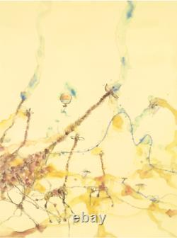 John OLSEN Giraffes and Balloon signed high quality art print, limited edition