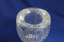 Josh Simpson Gravitron Controlled Bubble Paperweight /Vase 4 1/4 High 9.13.02