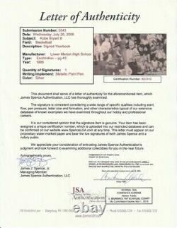 KOBE BRYANT Signed Lower Merion High School Senior Yearbook-ULTRA RARE-COA JSA