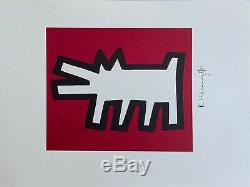 Keith Haring Barking Dogs. High Quality Color Lithograph
