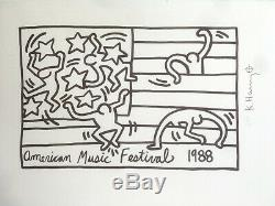 Keith Haring New York City Ballet. High Quality Lithograph