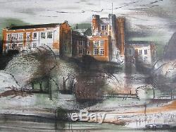 Kenneth Jack Australian Rare Lithograph Melbourne High School 1953