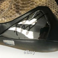 Kobe Bryant Autographed Nike IX High EXT QS Black Shoes Panini Aunthenticated
