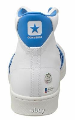 Larry Bird Signed Boston Celtics White Converse High Top Shoe Bird Hologram BAS