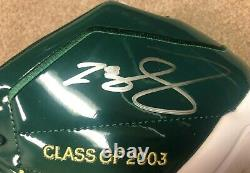 Lebron James Autographed SVSM High School Shoes. VERY RARE