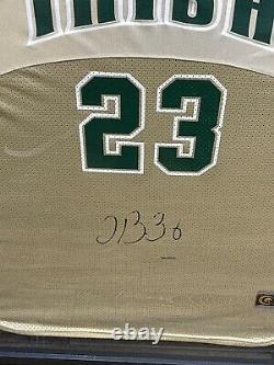 Lebron James High School Jersey Irish #23 Signed & Authenticated