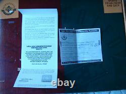 Lebron James signed High School St Vincent St Mary autograph framed UDA jersey