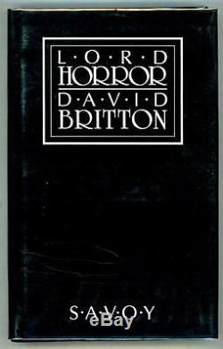 Lord Horror by David Britton (First Edition) Harlan Ellison signed- High Grade