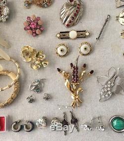 Lot Of Vintage Designer Signed And High End Costume Jewelry KJL Sterling Lanvin