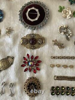 Lot Of Vintage Designer Signed And High End Jewelry
