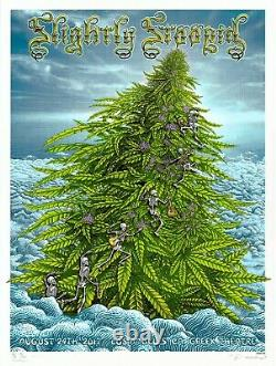 MINT & SIGNED Slightly Stoopid HIGH 2017 EMEK LA PEARL A/P Poster 20/20