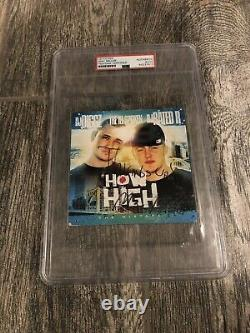Mac Miller Signed How High CD Psa/dna Coa Encapsulated Ez Mac 1st Ever Mixtape