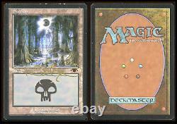 Magic the Gathering Signed Swamp Guru Lands 104 Other High End Sets TOAMagic