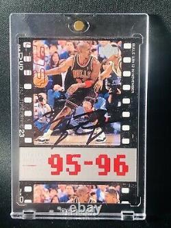 Michael Jordan Auto Autographed Signed Upper Deck 1995-96 WithCOA HIGH DEMAND