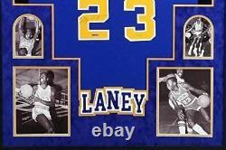 Michael Jordan Laney High School Signed Autograph Rare Custom FRAMED Jersey HAND
