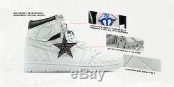 Michael Jordan Signed Air Jordan 1 Retro High OG Autographed Basketball Shoes UD