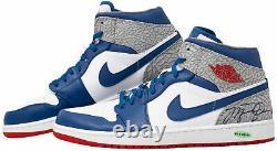 Michael Jordan Signed Chicago Bulls Air Jordan High Shoe UDA UAS06396