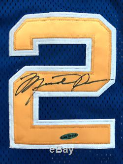 Michael Jordan Signed Laney High School Jersey UDA COA Autograph Upper Deck RARE