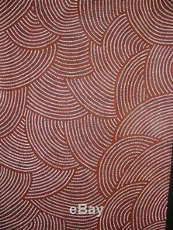 Michael Nelson Jagamara 122cm x 200cm Highly Collectible (Untitled)