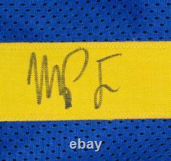 Michael Porter Jr. Signed Custom Blue Pro Style Mile High City Jersey JSA ITP