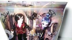 Monster High SDCC Signed Kieran Valentine & Djinni Whisp Grant Dolls Mattel NEW