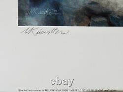 Mort Kunstler THE HIGH WATER MARK A/P Collectible Civil War Print