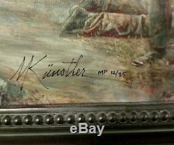 Mort Kunstler's High Water Mark Masterpiece Giclee # 12/35
