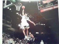 NBA PHENOM LEBRON JAMES Hand-Sign Autographed RARE High School 8x10 Photo withCOA