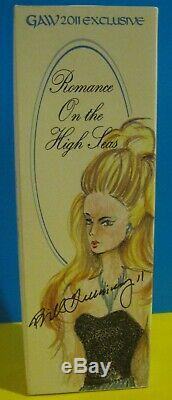 NEW 2011 GAW Grant a Wish Barbie Convention Romance on the High Seas Doll Signed