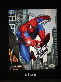 NEW High Res Stan Lee Signed Spiderman Photo #2 RARE Marvel Licensed PSA XO8213