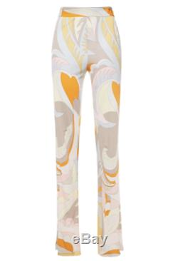 NWT Emilio Pucci signed Pastel Pants size IT40 6US $940