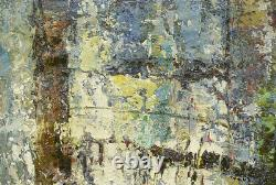 NY Art- High Quality Thick Modern Abstract 24x36 Original Oil Painting on Canvas